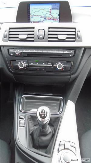 BMW 318d   Touring   2.0d   MT6   16″   Navi   Senzori parcare   Radio CD   Tempomat   AC   2014 - imagine 9
