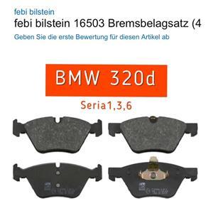 Placute frina fata BMW seria1,3,5,6,x1 NOI - imagine 1