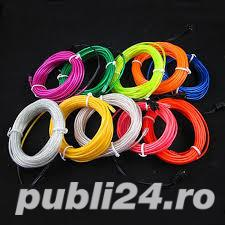 Promotie Fir electroluminescent neon flexibil EL Wire 8lei/m - imagine 9