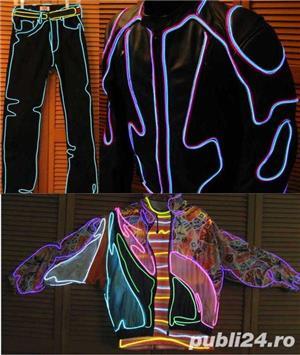Promotie Fir electroluminescent neon flexibil EL Wire 8lei/m - imagine 10