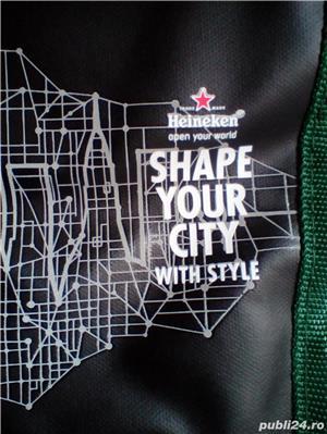 Rucsac Heineken editie limitata 2016 Shape Your City with style (nou) - imagine 3