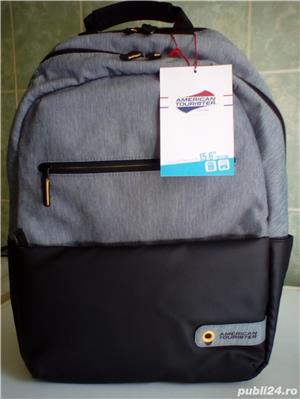 "Rucsac laptop American Tourister City Drift by Samsonite 15.6"" (nou) - imagine 2"