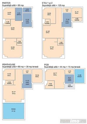 VÂNZARE  IMOBIL P+2E+PENTHOUSE+POD LOCUIBIL IN ZONA BALCESCU - imagine 6