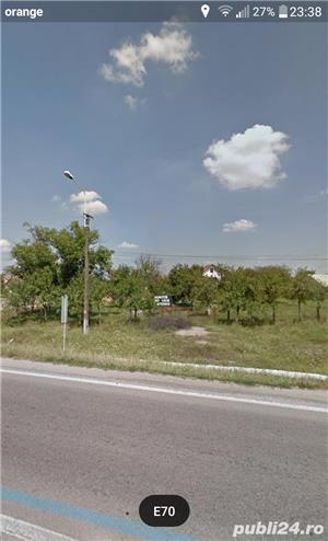 Inchiriez teren situat pe DN59/E70 - imagine 1