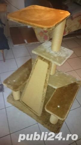 Ansamblu de joaca pentru pisici - imagine 4