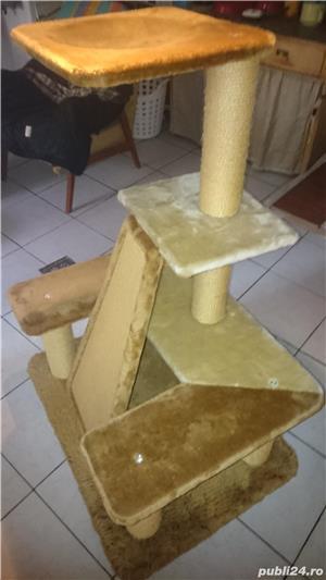 Ansamblu de joaca pentru pisici - imagine 5