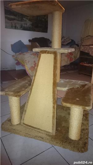 Ansamblu de joaca pentru pisici - imagine 7