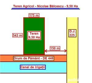 Teren Agricol - 31 Ha = 8 Ha + ( 10 Ha + 13 Ha ) - 12.000 Euro / Ha - imagine 2