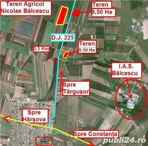 Teren Agricol - 31 Ha = 8 Ha + ( 10 Ha + 13 Ha ) - 12.000 Euro / Ha - imagine 1