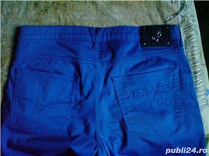 Pantaloni Versace Jeans marimea 32 albastri - imagine 3