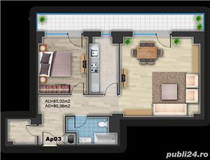 Apartament 2 camere SDK-DELTA Oradea. - imagine 5