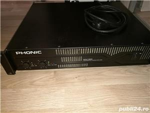 Vand amplificator PHONIC MAX 1500  stereo 450W/CH - imagine 3