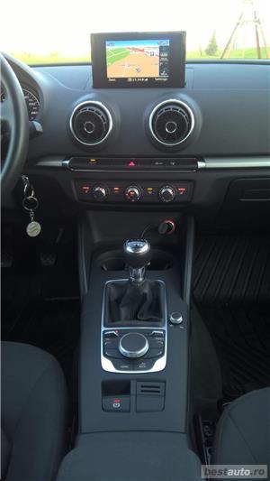 Audi A3 Limuzina clean diesel EURO6 NAVI Xenon LED 09.2015 - imagine 14
