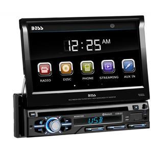 Dvd auto 1din motorizat, Bluetooth, Fata detasabila, USB, taste cu iluminare reglabila, multicolore. - imagine 4