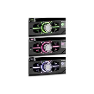 Dvd auto 1din motorizat, Bluetooth, Fata detasabila, USB, taste cu iluminare reglabila, multicolore. - imagine 2