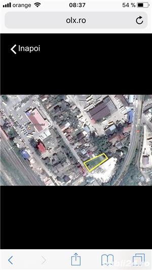 Vând teren (cu casa bătrânească și cu o construcție începută -parter) - imagine 2