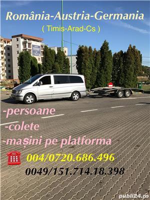 Transport Persoane Romania Germania - imagine 3