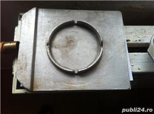 Tava gratar de mana din brobz cupru si aluminiu masiv - imagine 3