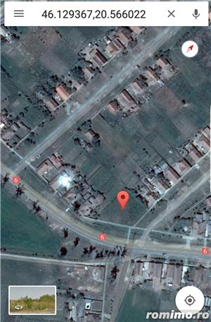 Vand / Schimb / Inchiriez Teren 1460 mp cu Nr. de Casa in Cenad pe soseaua principala ! - imagine 2