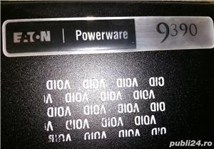 UPS 40kVA ONLINE EATON Powerware 9390, SIN, AVR, trifazat, display.  - imagine 3