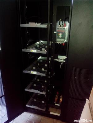 UPS 40kVA ONLINE EATON Powerware 9390, SIN, AVR, trifazat, display.  - imagine 5