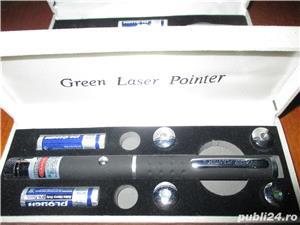 Laser verde 1 cap 3D bar club disco - imagine 5