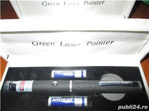 Laser verde 1 cap 3D bar club disco - imagine 4