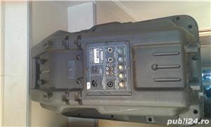 boxa activa 500w cu intrare auxiliar laptop, mobil, cd,ipod, etc ideal pentru sonorizari evenimente - imagine 10