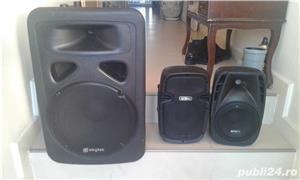boxa activa 500w cu intrare auxiliar laptop, mobil, cd,ipod, etc ideal pentru sonorizari evenimente - imagine 4