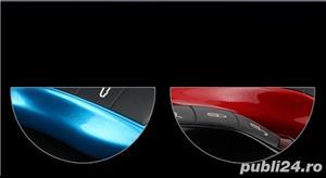 Carcasa Cheie Porsche Set 3 Buc Albastru Metalizat - imagine 3
