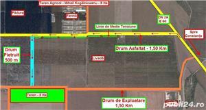 Teren Agricol - 31 Ha = 8 Ha + ( 10 Ha + 13 Ha ) - 12.000 Euro / Ha - imagine 4