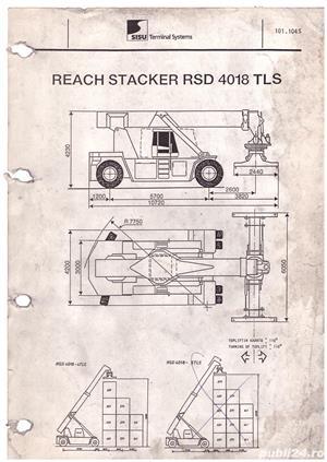 Stivuitor containere Valmet 40 tone - imagine 3