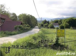 2300mp super teren intravilan cu utilitati, munte,rau,padure,strada asfaltata,zona turistica curata - imagine 8