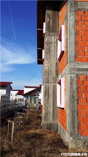 Proprietar,vand vila in constructie,p+1e+pod otopeni - imagine 5
