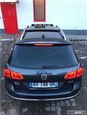 Vw Passat B7 BiXen adaptiv LED Navi Piele Panoramic Lane Assist etc... - imagine 5