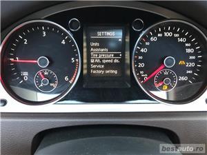 Vw Passat B7 BiXen adaptiv LED Navi Piele Panoramic Lane Assist etc... - imagine 9