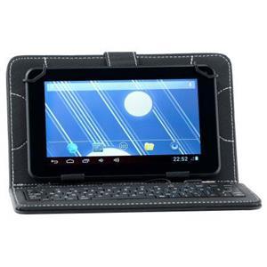 """Vand Husa de protectie Universala A+ Case pentru tableta 7""""cu Tastatura, Black - imagine 1"""