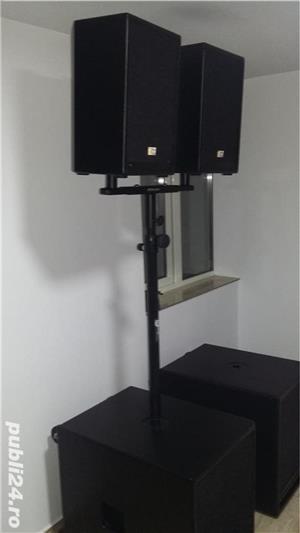 Inchiriez sistem activ/pasiv si lumini ptr orice tip de eveniment  - imagine 1