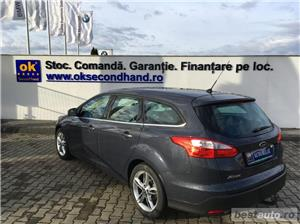 Ford Focus | Break | 1.6D | Xenon | Jante aliaj | Carlig remorcare | Scaune incalzite | Clima | 2014 - imagine 3