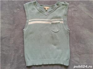 pulovere si vesta baietei 6-24 luni - imagine 6