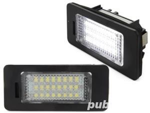 Lampi LED numar Audi A4 B8 A5 Q5 TT A1 A4 Allroad A7 RS5 A6 C7 - imagine 1