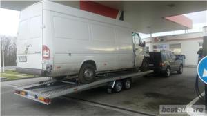 Inchirieri platforme auto pentru dube prelate sau camionete slep remorca  - imagine 3