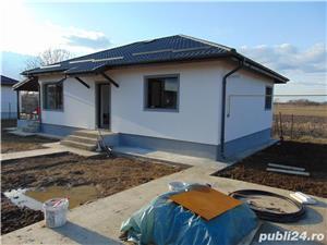 Casa cu 3 camere pe PARTER cu placa de beton deasupra pod pentru depozitare terasa beci LA CHEIE - imagine 4