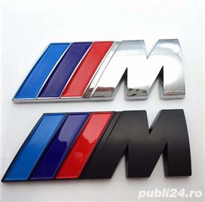 Embleme BMW M power M Performance sticker - imagine 1