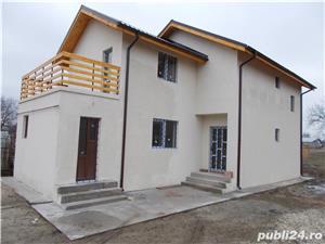 Casa cu 4 camere P+1+terasa 2018 la asfalt bransata la utilitati LA CHEIE cu finisaje merita vazuta  - imagine 1