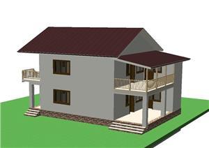 FARA COMISIOANE casa cu 3 camere model Duplex curte separata finisaje utilitati LA CHEIE 2018 - imagine 3