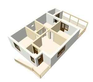 FARA COMISIOANE casa cu 3 camere model Duplex curte separata finisaje utilitati LA CHEIE 2018 - imagine 5