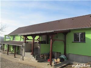 Casa saseasca renovata, cu 2 apartamente si teren 6380 mp , Seica Mare, Sibiu - imagine 3
