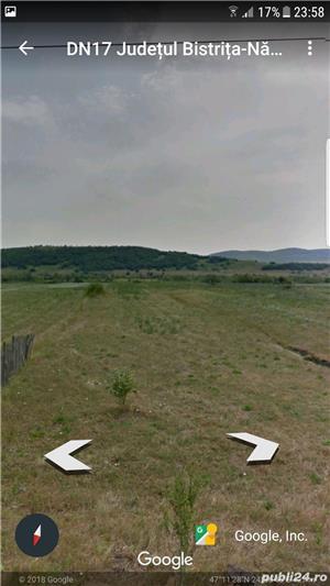 Teren de vanzare DN 17 Livezile -Rusu Bargaului - imagine 2