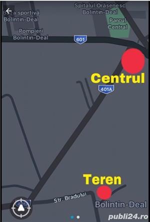 Teren Intravilan 750/1000/1500 mp in Bolintin Deal (Propietar) - imagine 2